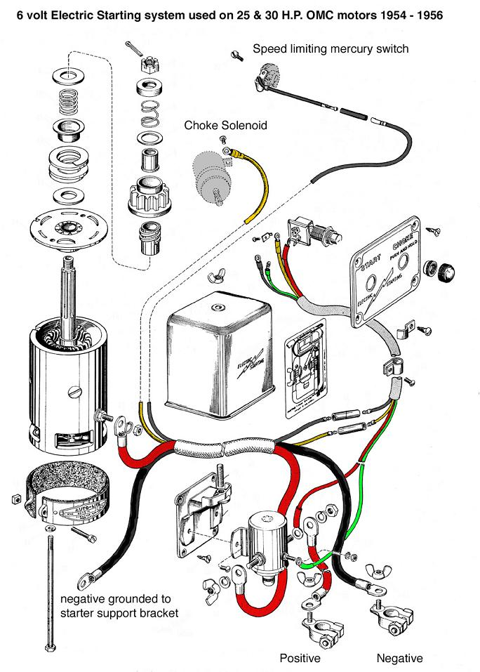12v Voltage Starter Relay Wiring Diagram Force Outboard
