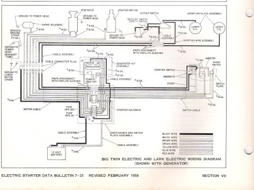 small resolution of 1958 omc wiring diagram