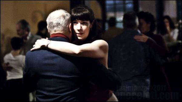 Tango dancing Tango