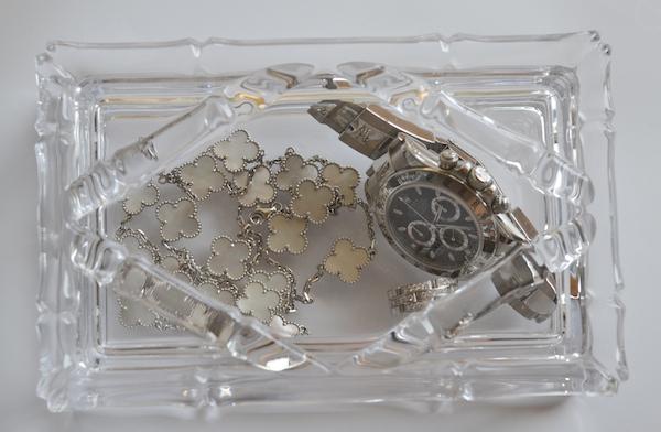 Jewelry in bamboo box