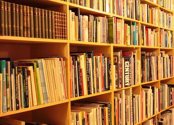 Suzi's impressive library