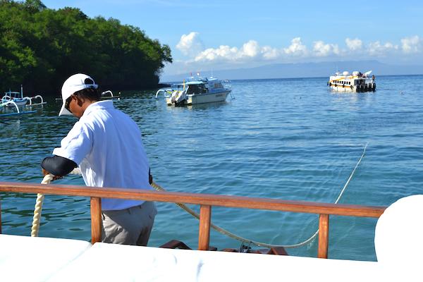 amankila boat snorkel