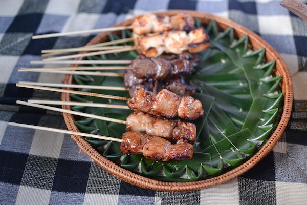 satay meat