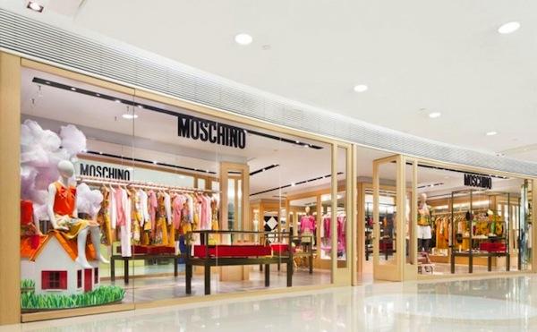 Moschino Hong Kong, via Moschino