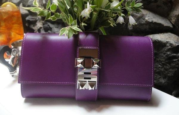 Hermes violet Medor