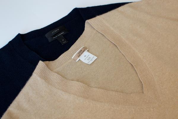 J.Crew boyfriend sweaters
