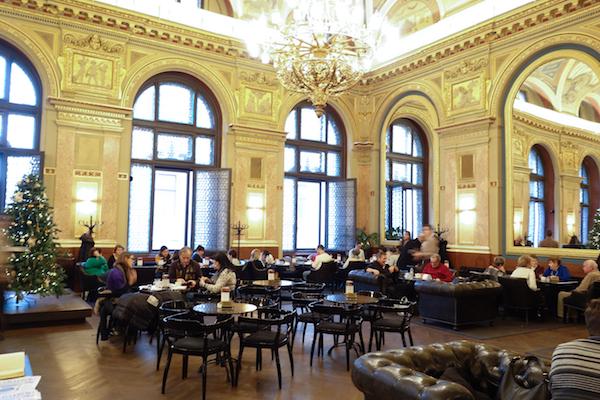Budapest - Bookshop Cafe