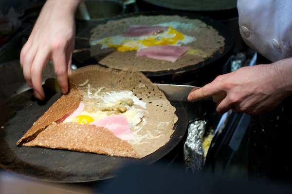 Paris - Breizh Cafe Omelette