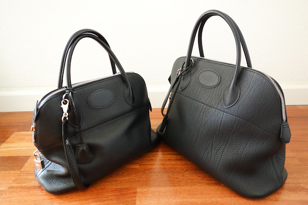 eee7065650 The Hermes Bolide – Size Comparison