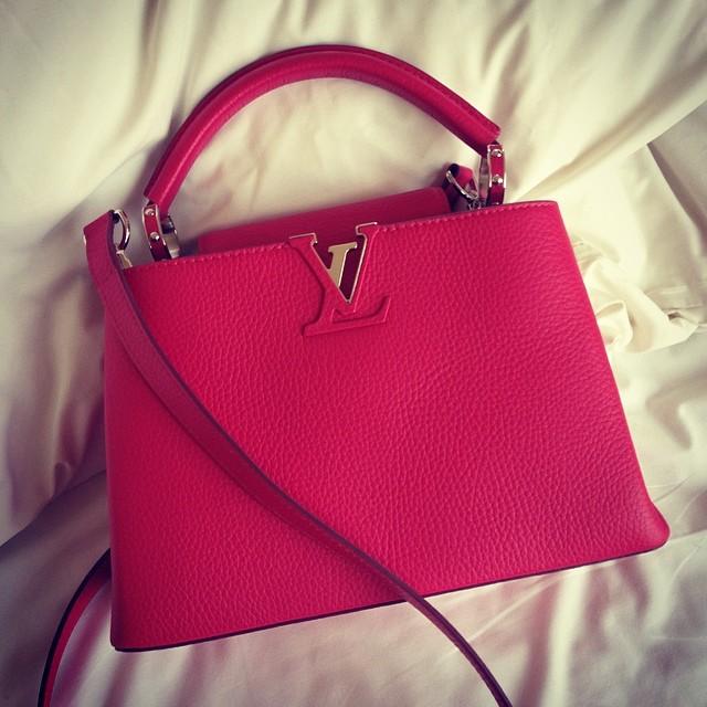 Louis Vuitton Capucines bag