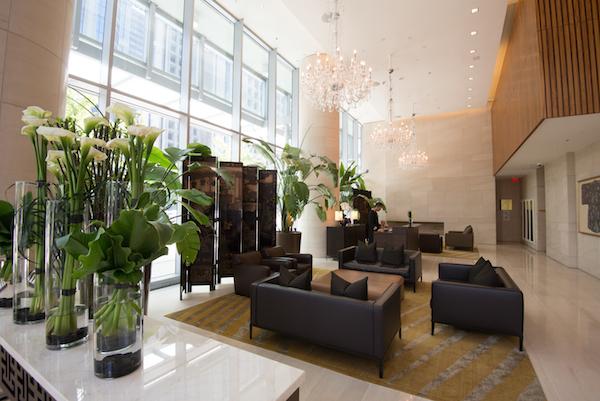 Shangri La Vancouver lobby