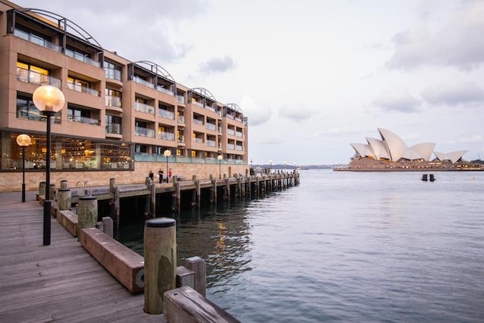 Park Hyatt Sydney Entrance