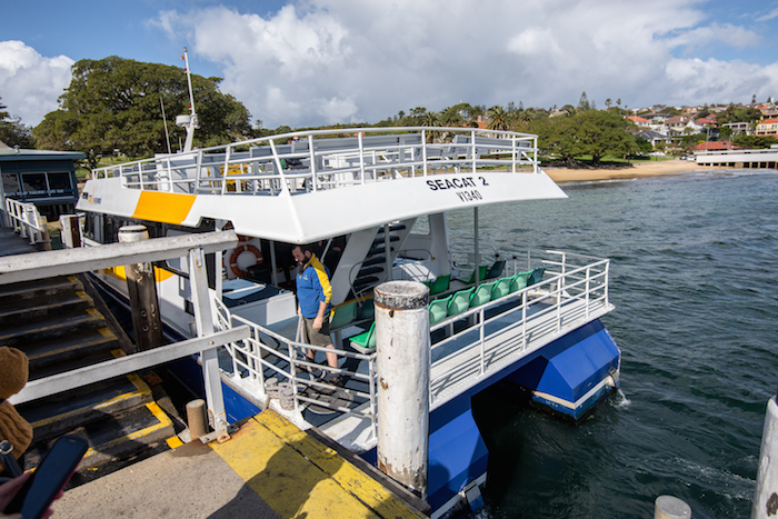 Watsons Bay Ferry to Manly