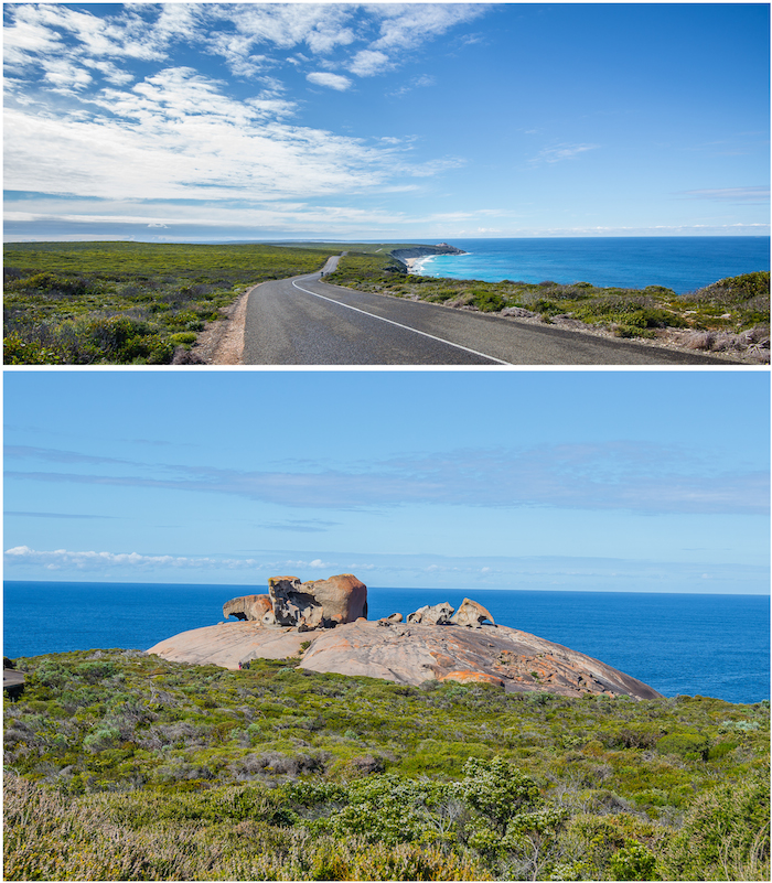 Southern Ocean Lodge Remarkable Rocks Approach