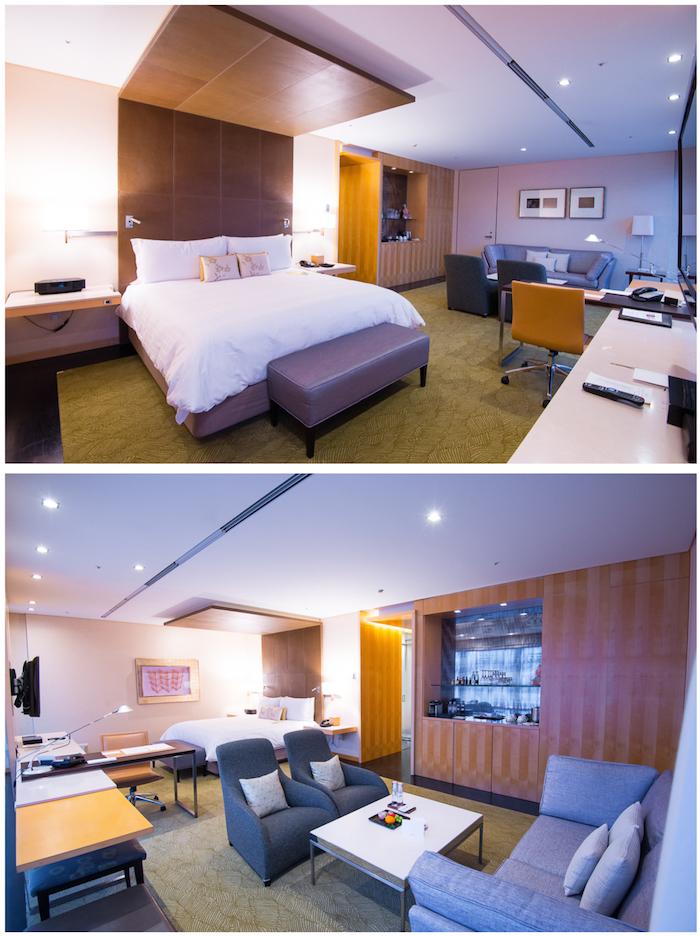 Four Seasons Tokyo Living Room Bedroom