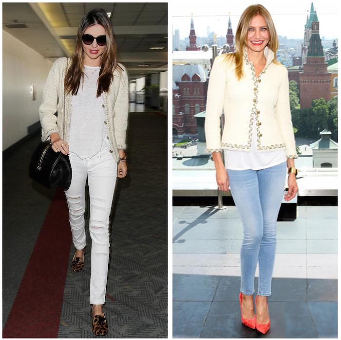 Chanel White Jacket 2