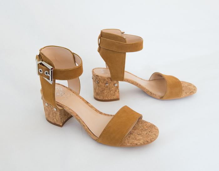 Vince Camuto cork sandals