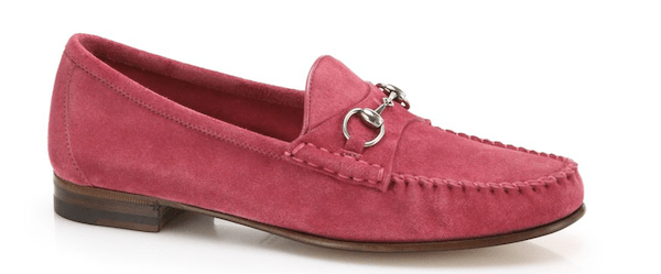 gucci pink loafer