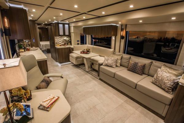 Featherlite Coaches Interior - Year of Clean Water