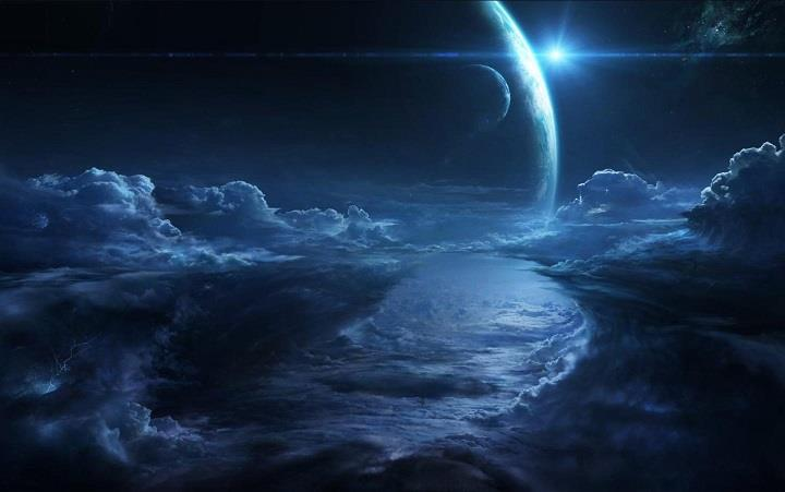 3d Moon Night Wallpaper Artur Zima Ethereal Landscapes Feather Of Me