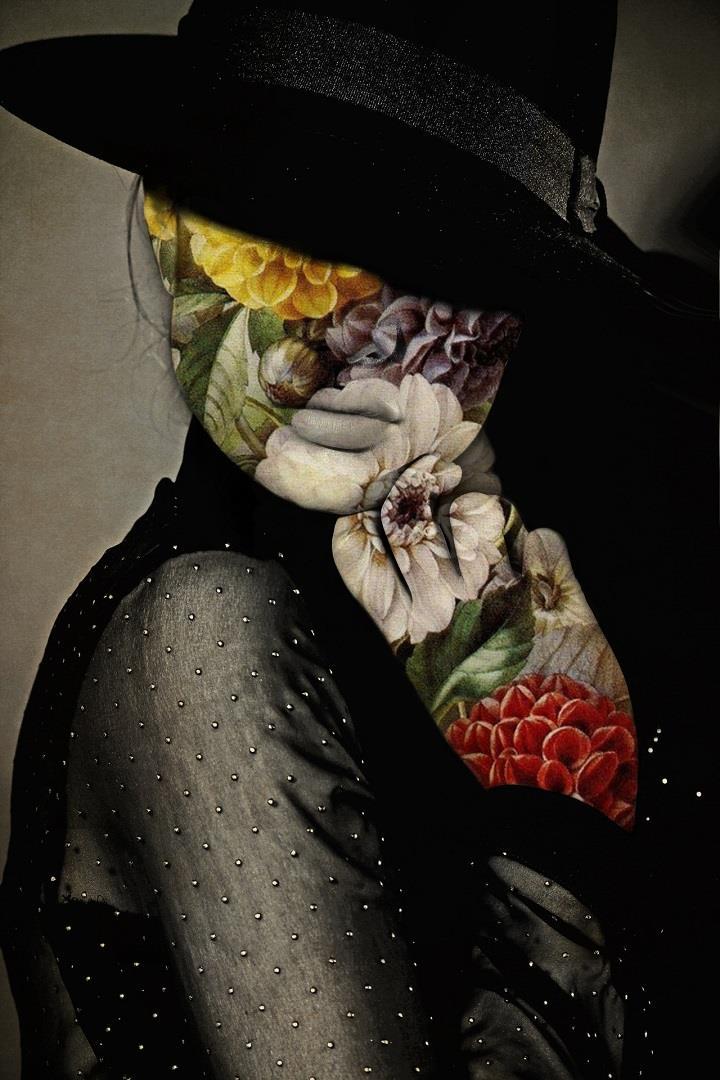 Jenya Vyguzov  Harmoniously Flawed Collages  Feather Of Me