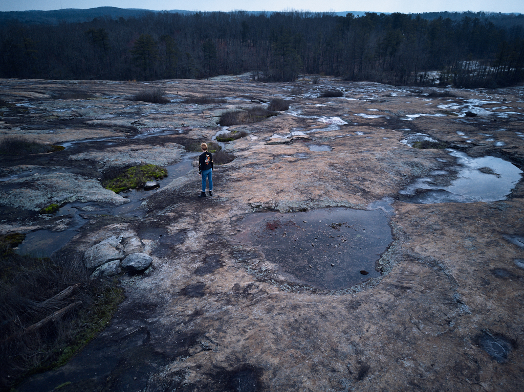 Arabia Mountain and Ziggi Jacket