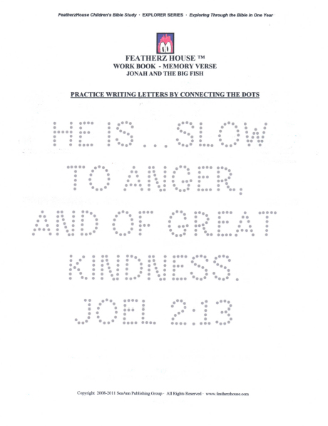 OT/NT 200 PRINTABLE BIBLE ACTIVITIES AND MEMORY VERSES
