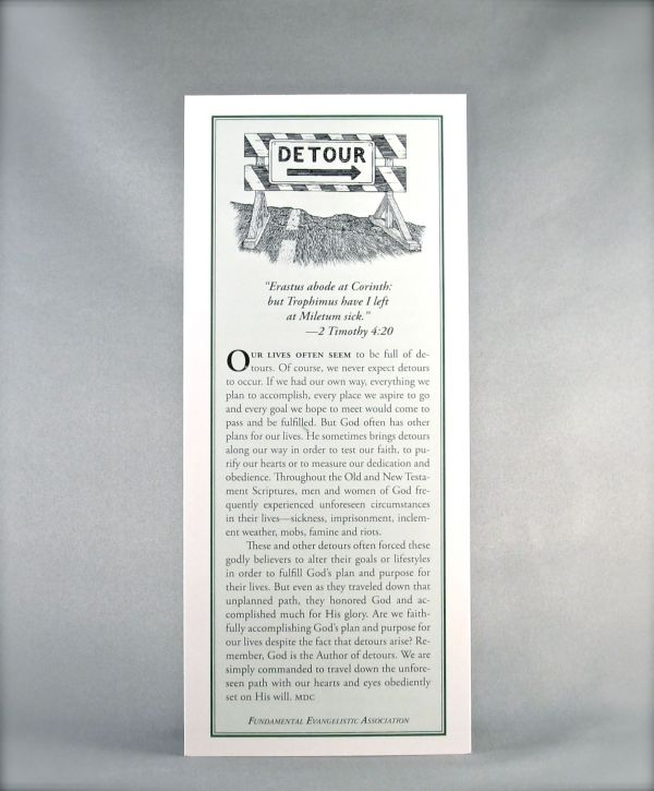 The Bible / Detour
