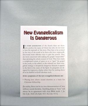 New Evangelicalism Is Dangerous