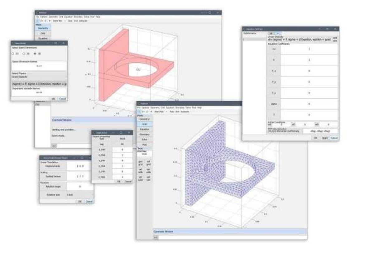 FEATool Multiphysics - Matlab FEM Physics Simulation Toolbox