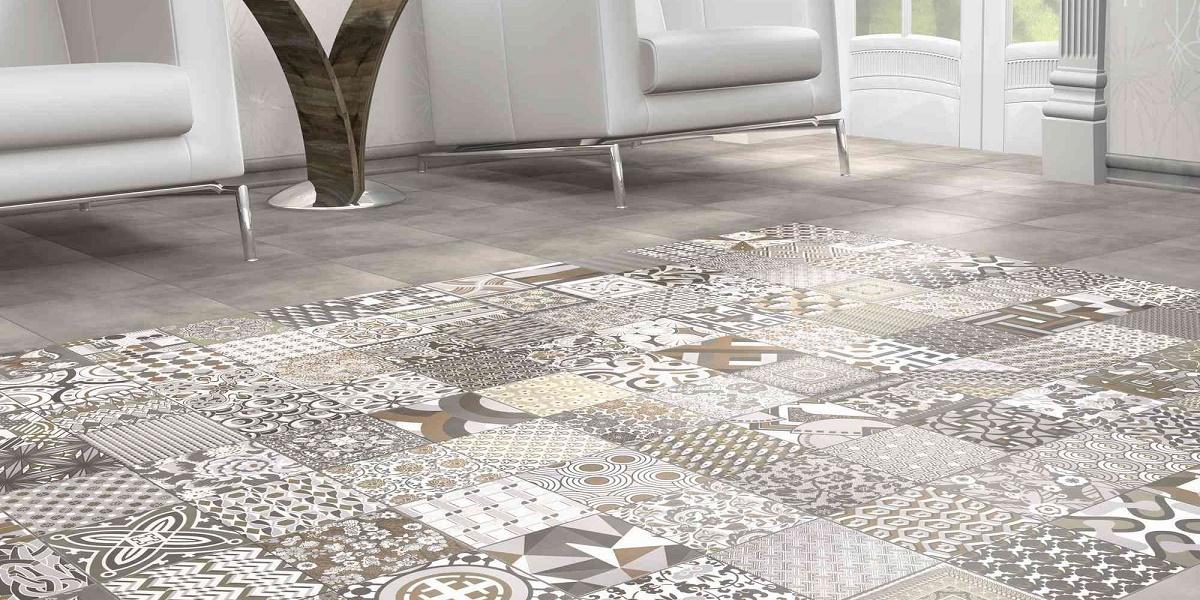Braga porcelain tiles per m2 for Carrelage smart tiles leroy merlin
