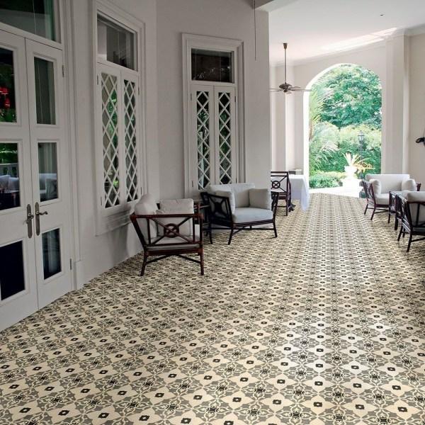 Casbah Grey Ceramic Tiles