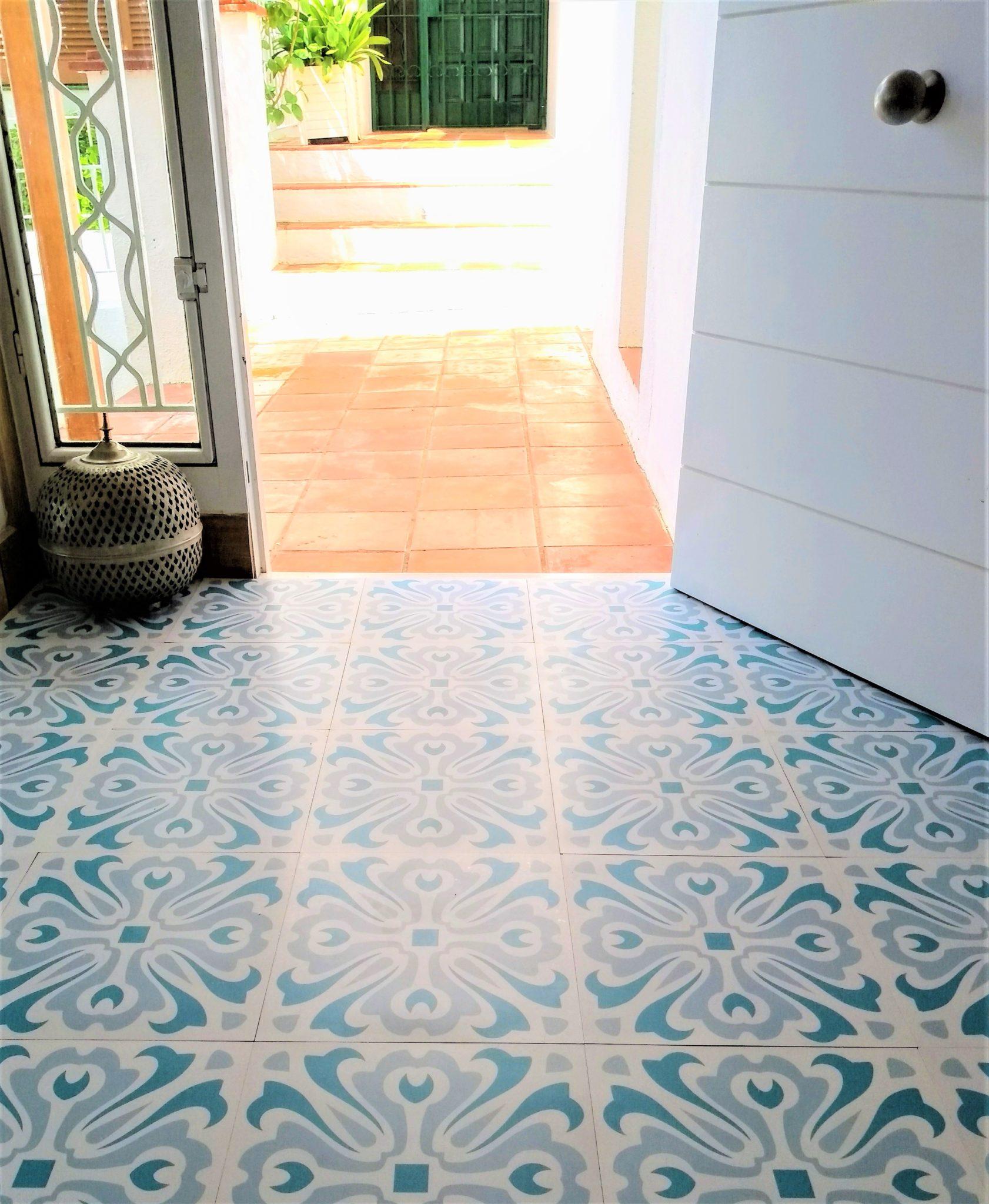 Havana Day Vinyl Floor Tile: £20 Per M2