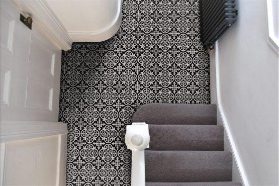 Gothic Hallway Tiles