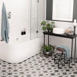 Canis Black Ceramic Floor Tiles