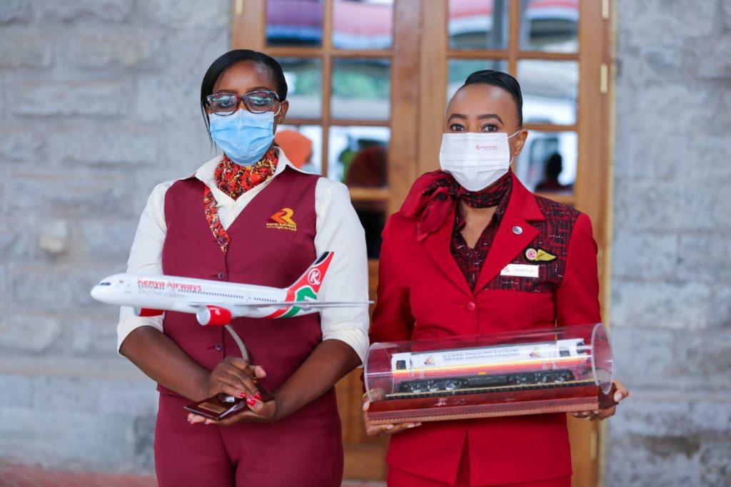 Kenya Airways & Kenya Railways Covid Protocols