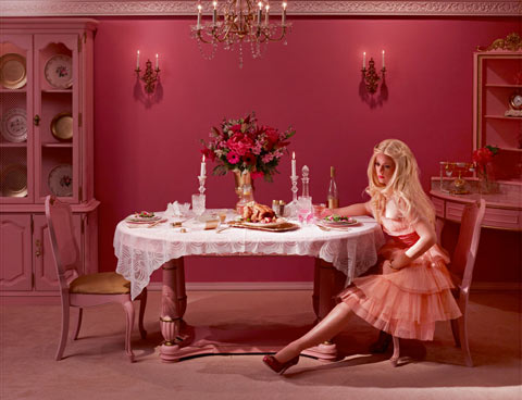 In the dollhouse Dina-Goldstein photography