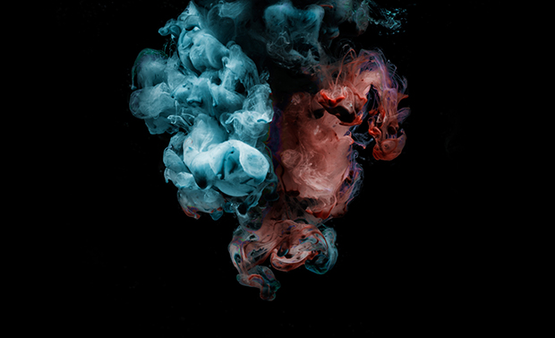 Liquid Smoke Cotton Candy Colored Photos Of Ink In Water Feature Shoot