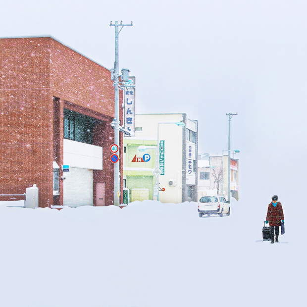 Beautiful Photos of Japanese Cities Lost in Snow - Feature Shoot
