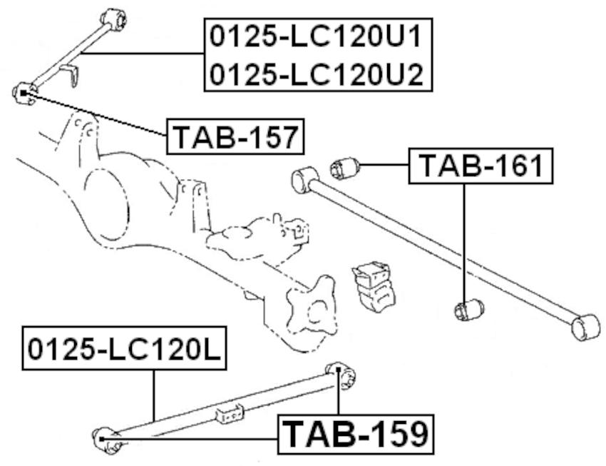 For TOYOTA LAND CRUISER PRADO 120 2002- ARM ASSEMBLY LOWER