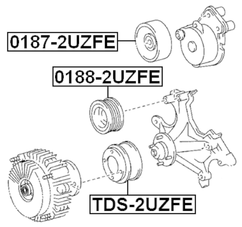 Engine Timing Idler Pulley For 2007 Toyota Land Cruiser