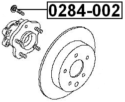 Wheel Lug Stud For 2006 Nissan Quest (CAN) 4056111042367
