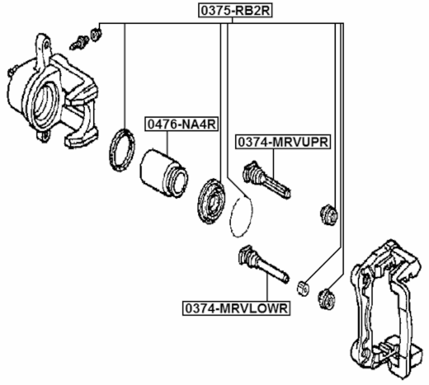 Rear Suspension Subaru Forester Parts Catalog