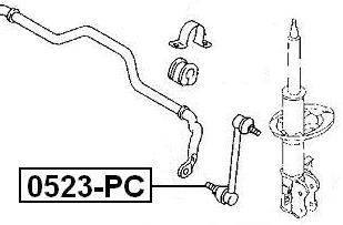 FRONT SWAY BAR LINK For Chrysler COMPASS/PATRIOT 2006-2010