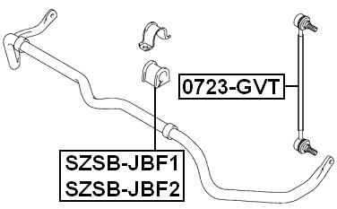 Suspension Stabilizer Bar Link For 2007 Suzuki Grand