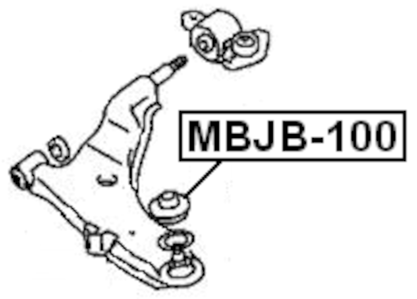 Suspension Ball Joint Boot For 1998 Mitsubishi 3000GT (CAN)