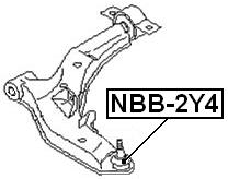 For NISSAN MAXIMA/CEFIRO A33 1998-2006 BALL JOINT BOOT OEM