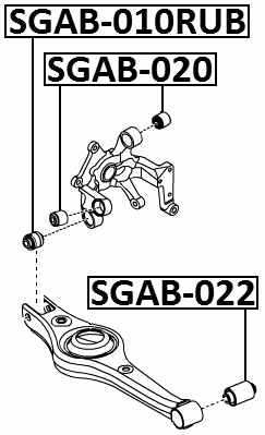 For SSANG YONG NEW ACTYON (KORANDO C) 2010-2013 Arm