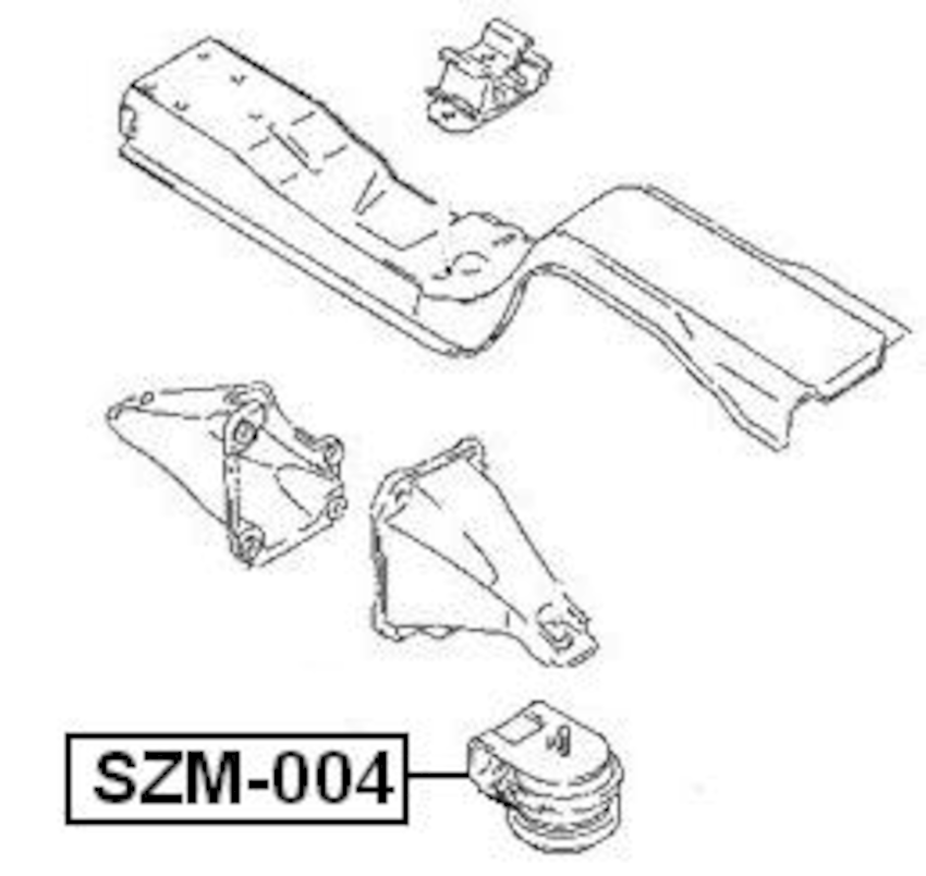 FRONT ENGINE MOUNT For Suzuki GRAND VITARA ESCUDO 1998