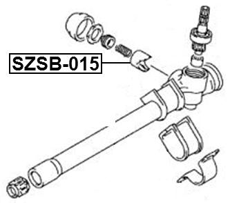 PLUNGER STEERING RACK For Suzuki Ignis Rg413/Rg415/Rm413